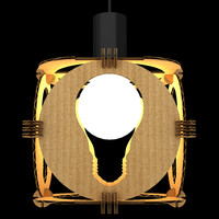 3d lamp night light model