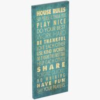 3d model rdbs4137 house rules textual