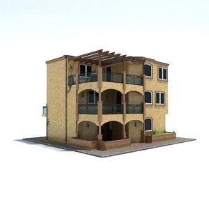 3d model of family house