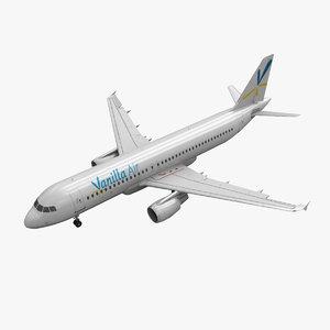 airbus a320 vanilla air max