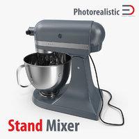 stand mixer c4d