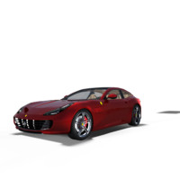 2016 ferrari gtc4lusso 3d model