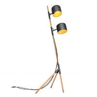 floor lamp black gold