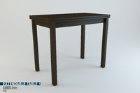 Extendable Table Bjursta Series Ikea