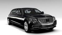 Mercedes Maybach Pullman Guard 2017