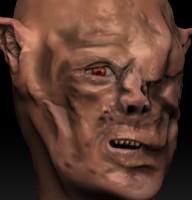 3d gothmog orc lord model