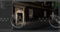 3d model 10 downing street london