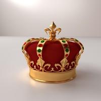 crown v2 3d model