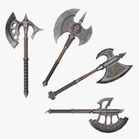fantasy axes 3ds