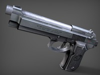 3ds baretta m9