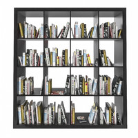Ikea Expedit shelf with books