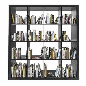 max ikea expedit shelf books