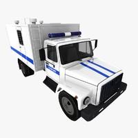 GAZ-3307 Police
