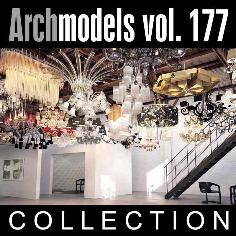 archmodels vol 177 3d max