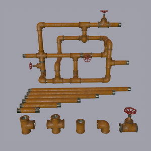 3d model of pipe