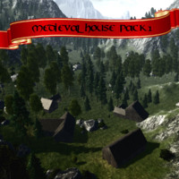 Medieval house Pack1
