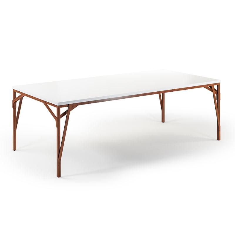 allumette table 3d max