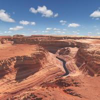 canyon environment 3d model