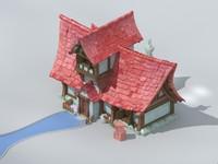 house 2 5d obj