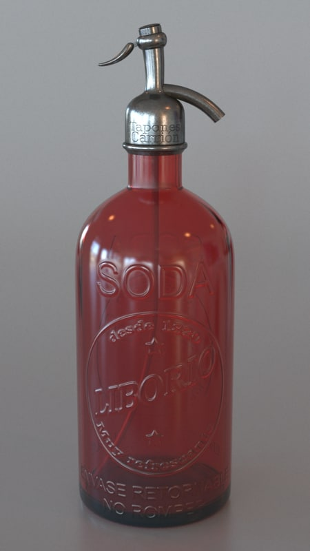 soda syphon 3d max
