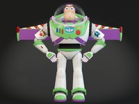 3d buzz lightyear toy model
