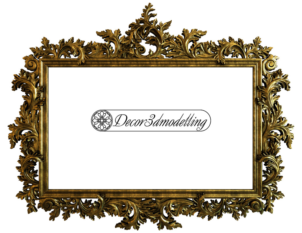 dxf decorative frame