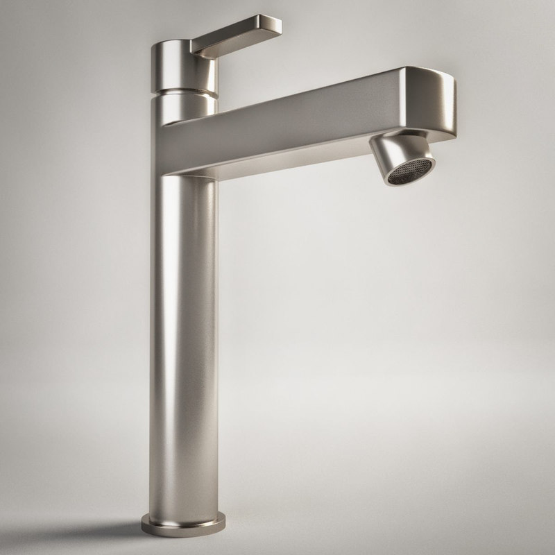 3d photorealistic faucet 4 3