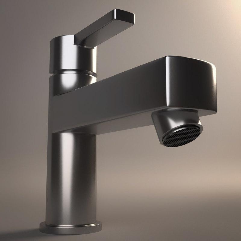 photorealistic faucet 4 2 3d 3ds
