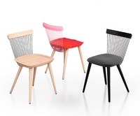 The WW Chair Colour Series and WW chair upholstered by H Furniture