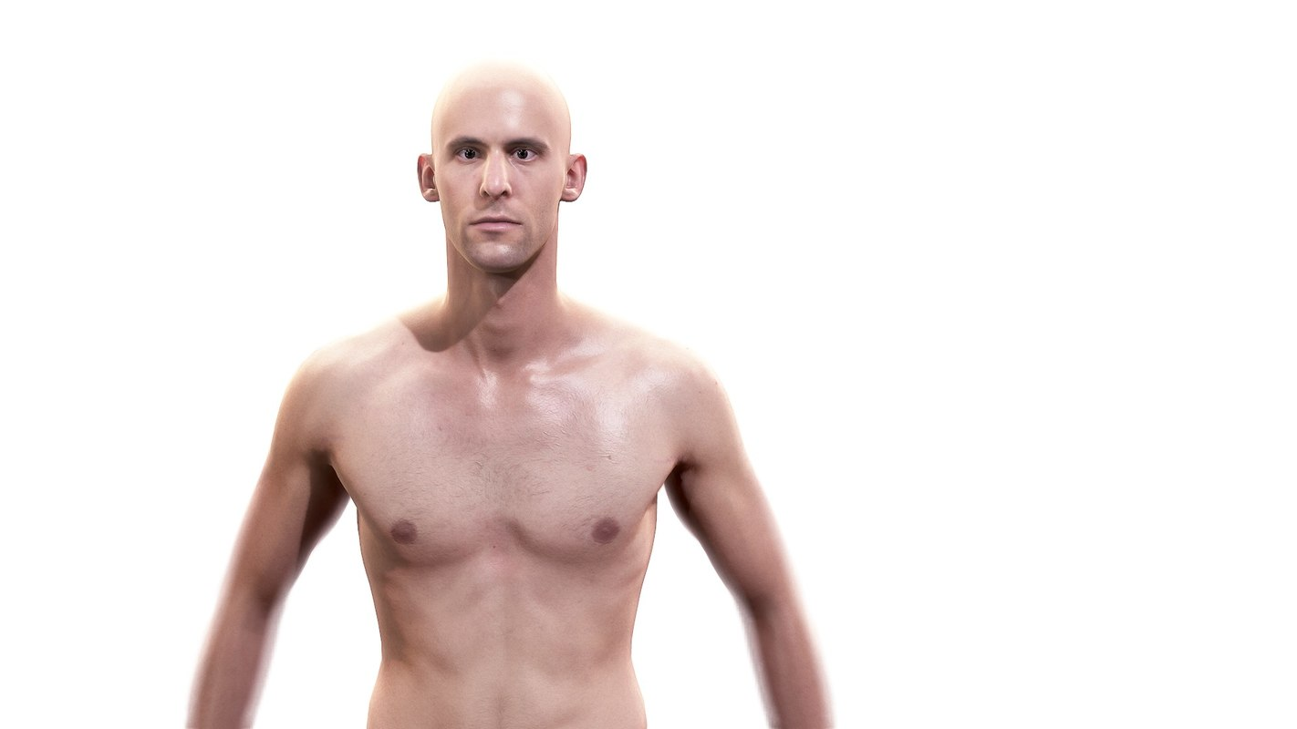 3d character humans - scans