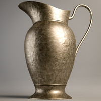 3d metal pitcher 1