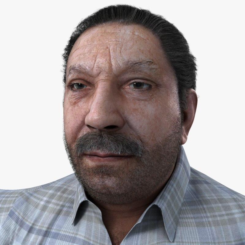 3d realistic man real