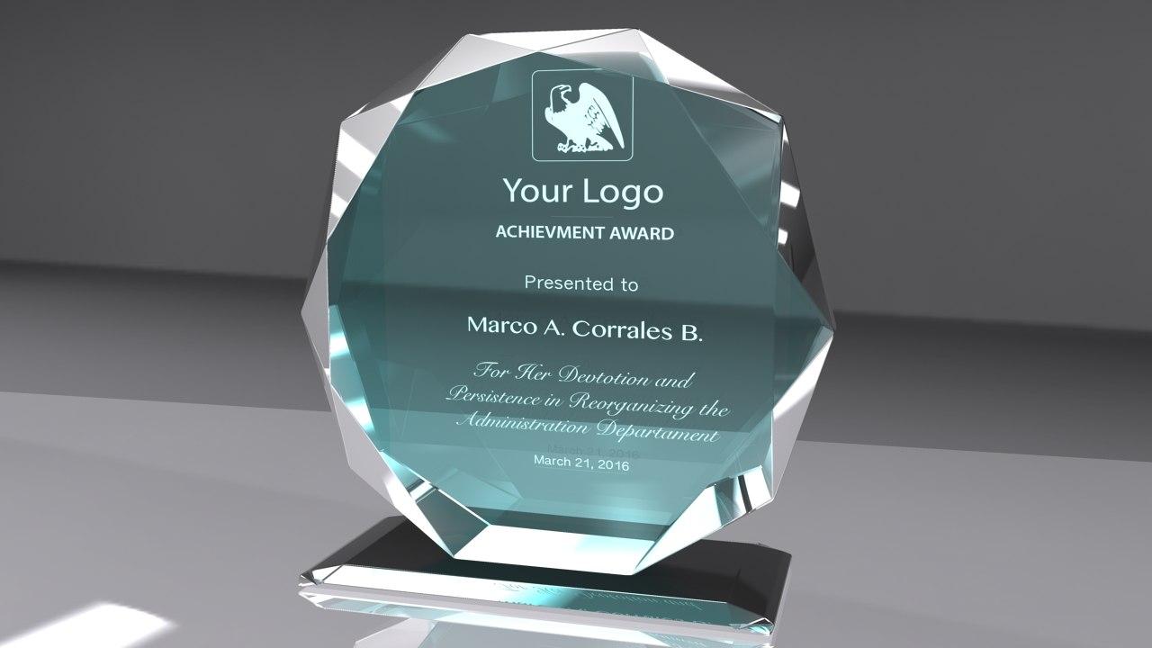 ma award glass