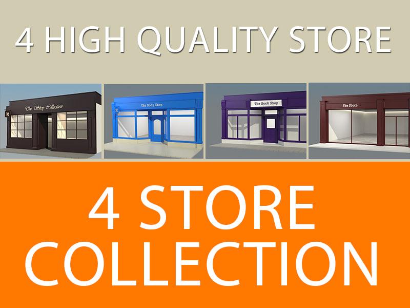 3d model shop v2