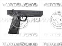 pistol 3d max