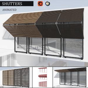 shutters corona 3d x