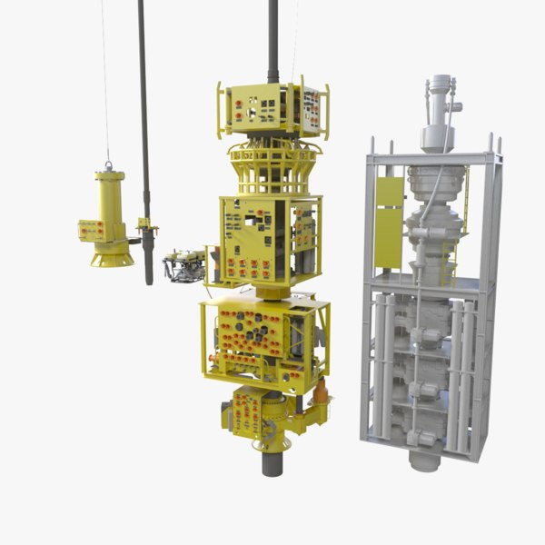 3d subsea oil gas