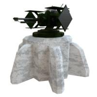 laser turret x