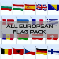 obj pack flags european