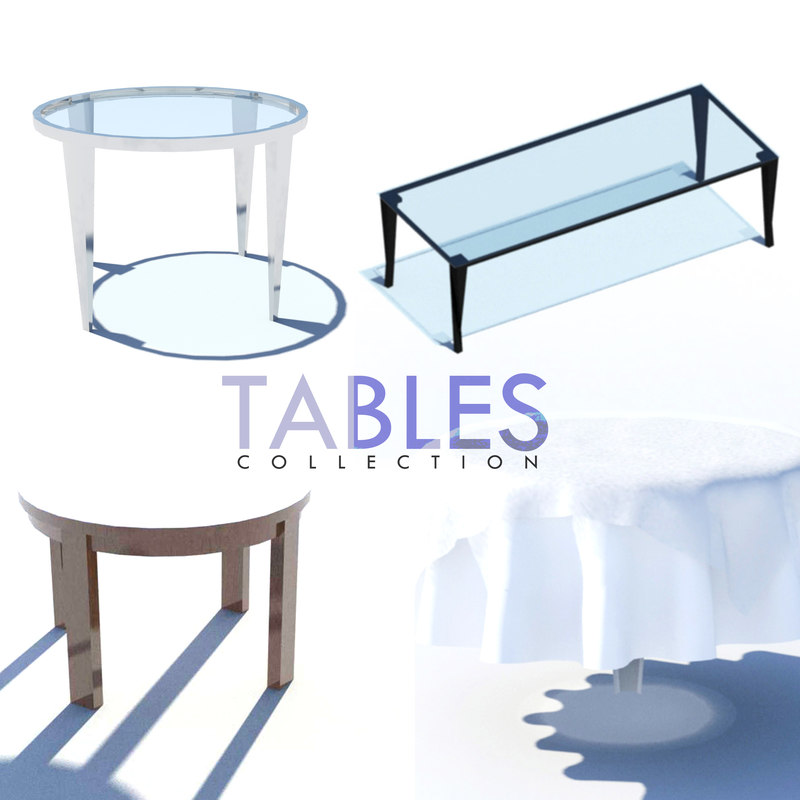 tables wooden steel max