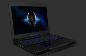 3d alienware m17x r4 model