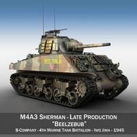 M4A3 Sherman - Beelzebub