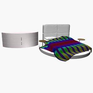 presotto bed 3d model