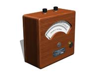 old voltmeter max