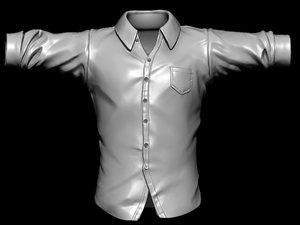 3ds zbrush shirt