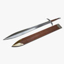 spartan sword 3D models
