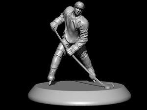 hockey statue 3ds