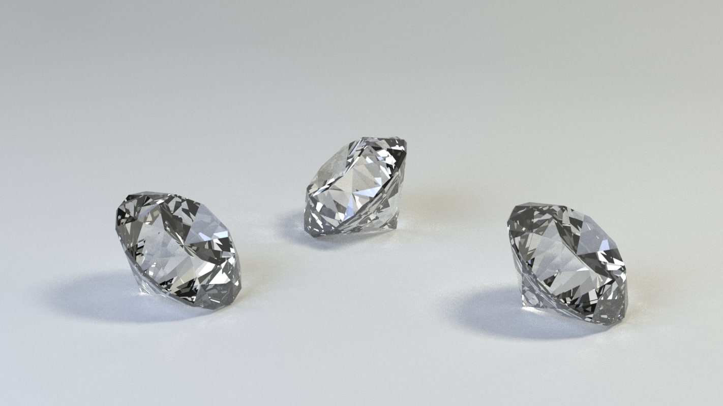 diamond brilliant 3d model