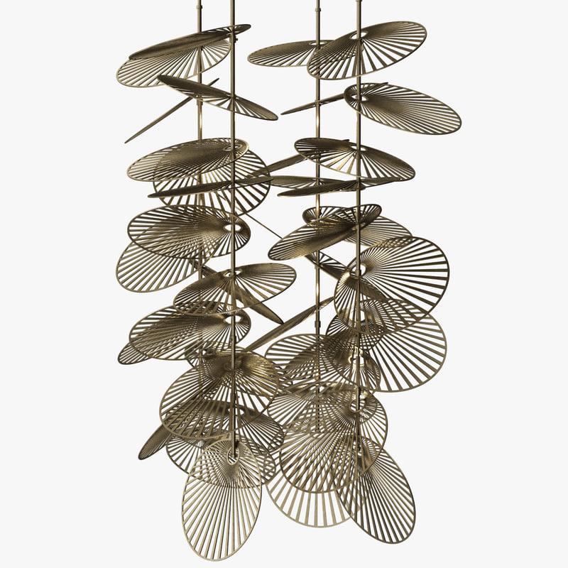 3d model heathfield - leaf