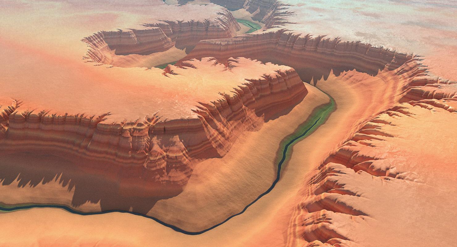 3d canyon